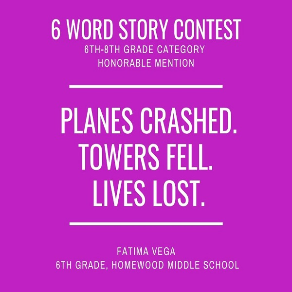 6 Word Story Contest4